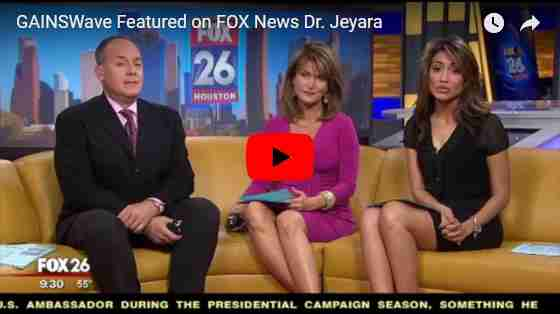 Dr. Jeyaraj Discusses GAINSWave on Fox