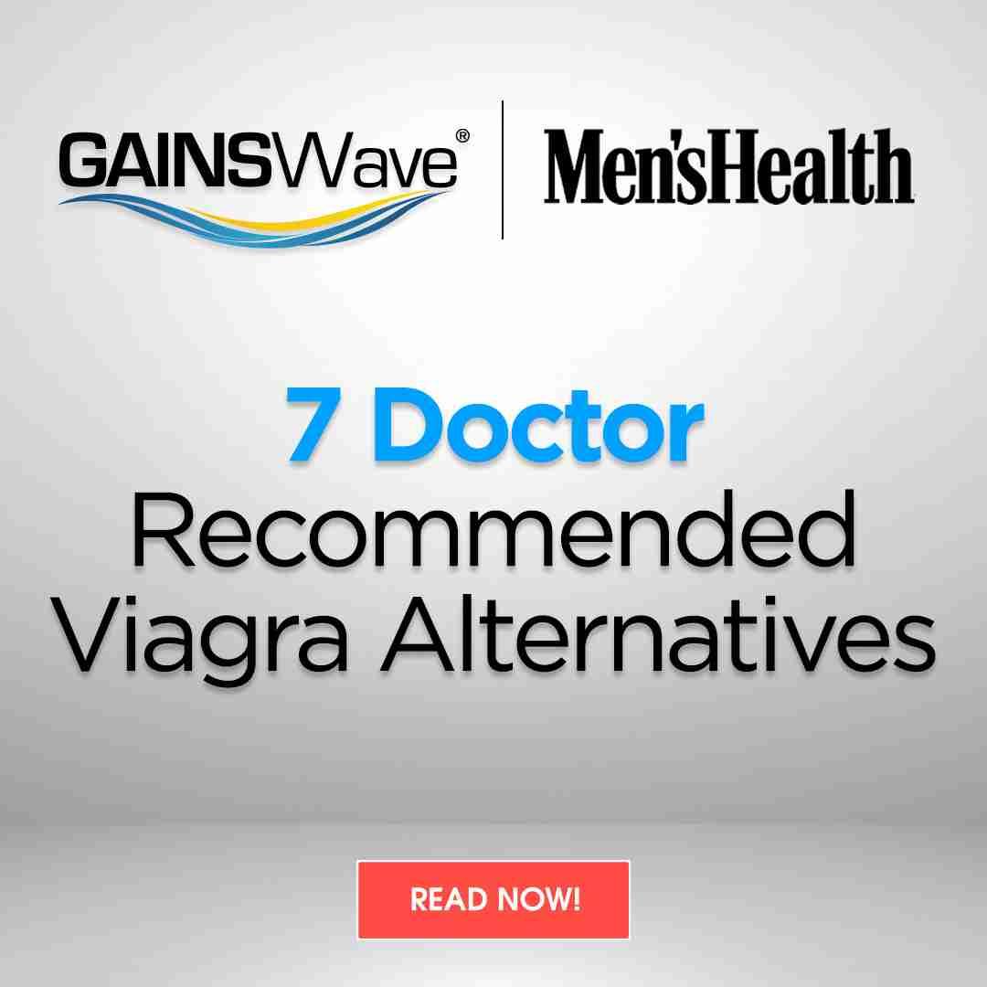 Men's Health Magazine Spotlights GAINSWave – AGAIN!