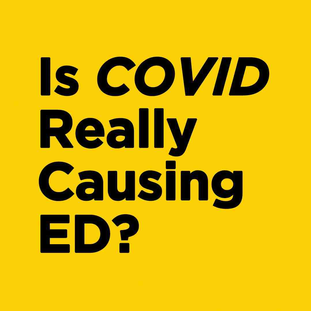 Why Men Experiencing Erectile Dysfunction Due To COVID-19 Virus Should Utilize Shockwave Therapy (GAINSWave®)